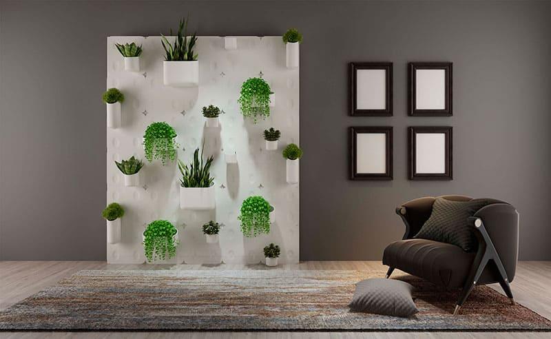 jardines verticales para decoracion