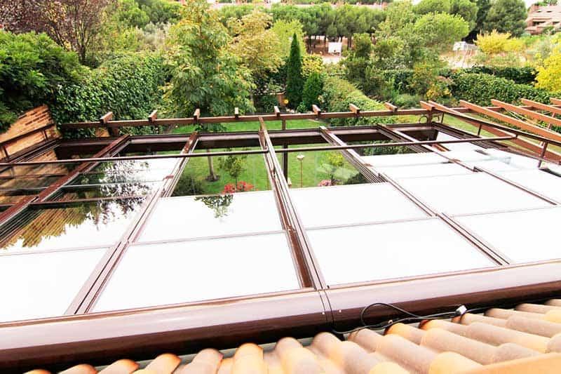 techos moviles de cristal baratos