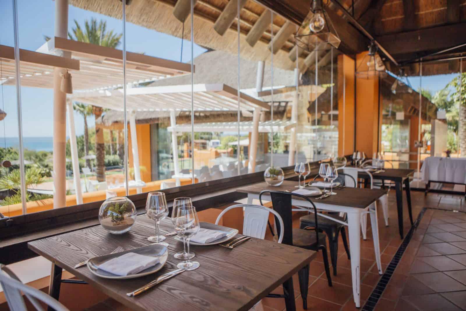 cerramiento para restaurante en malaga
